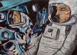 Космонавты_50