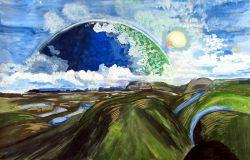 Космический пейзаж_10