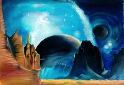 Космический пейзаж_29